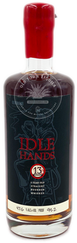 Idle Hands 5 Year Old Straight Bourbon Whiskey 750ml