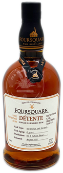 Foursquare Détente Single Blended Rum 750ml