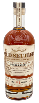Old Settler Kentucky Straight Bourbon Whiskey 750ml