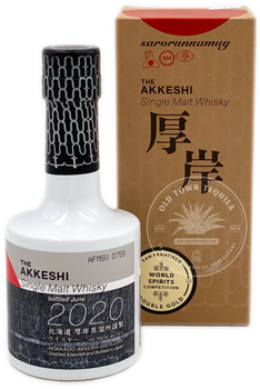 The Akkeshi Sarorunkamuy Single Malt Whisky 2020 200ml