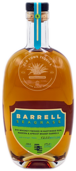 Barrell Seagrass Rye Whiskey 750ml