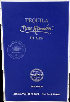 Don Ramon Swarovski Crystal Limited Edition Silver Tequila