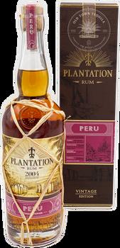 Plantation Peru Vintage Edition Rum 750ml