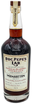 Doc. Pepe's Lab Barrel-Finished Manhattan 750ml