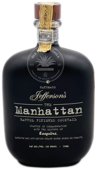 Jefferson's Esquire The Manhattan Barrel Finished Cocktail 750ml