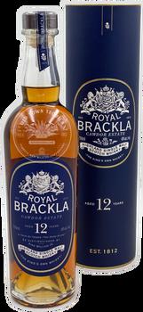 Royal Brackla Highland Single Malt Scotch Whisky Aged 12 Years 750ml