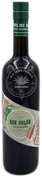 Ron Colón Salvadoreño Coffee Flavored Rum 81 Proof Green Label