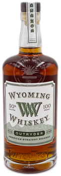 Wyoming Whiskey Outryder American Straight Whiskey 750ml
