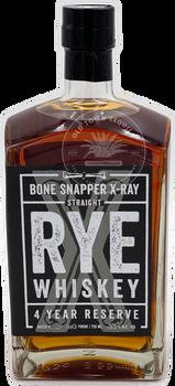 Bone Snapper X-Ray Straight Rye Whiskey 4 Year Reserve 750ml