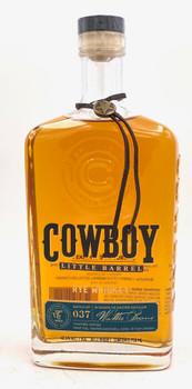 Cowboy Little Barrel Rye Whiskey