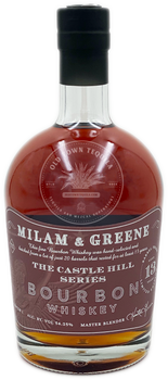 Milam & Greene The Castle Hill Series Batch 1 Bourbon Whiskey Aged 13 Years