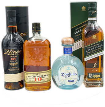 Father's Day Tequila and Spirits 4 x 750ml Combo 2