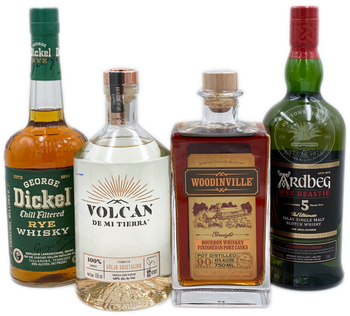 Father's Day Tequila and Spirits 4 x 750ml Combo 3