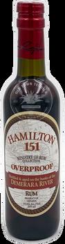 Hamilton Rum Overproof 151 375ml