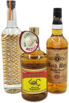 Father's Day Mezcal and Whisky 3 x 750ml Combo 5