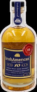 IrishAmerican 10 Year Old Single Malt Irish Whiskey 750ml