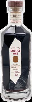 Source One Single Estate Vodka Rested in Oak Sherry Casks 750ml