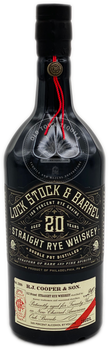 Lock Stock & Barrel Limited Release 20 Year Straight Rye Whiskey