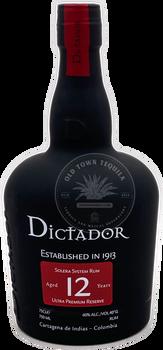 Dictador 12 Years Solera System Rum 750ml
