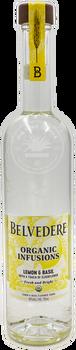 Belvedere Organic Infusions Lemon & Basil Vodka 750ml