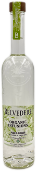 Belvedere Organic Infusions Pear & Ginger Vodka 750ml