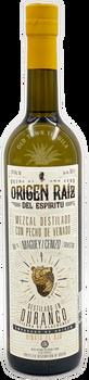 Origen Raiz del Espiritu Mezcal Cenizo Destilado con Pecho de Venado 750ml