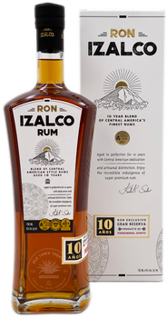 Ron Izalco 10 Year Blend of Central America's Finest Rums 750ml
