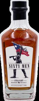 Sixty Men Straight Bourbon Whiskey 750ml