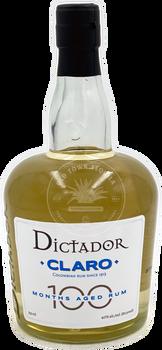 Dictador Claro 100 Months Aged Rum 750ml