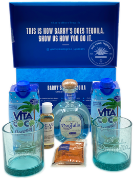 Don Julio x Barry's Margarita Kit with Blanco 375ml Tequila