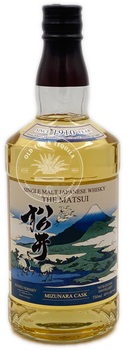 The Matsui Single Malt Mizunara Cask Japanese Whisky 750ml