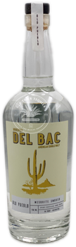 Del Bac Old Pueblo Mesquite Smoked American Single Malt Whiskey 750ml