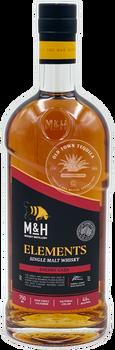 M&H Elements Sherry Cask Single Malt Israeli Whiskey 750ml