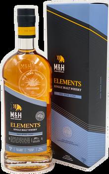 M&H Elements Red Wine Cask Single Malt Israeli Whiskey 750ml