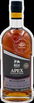M&H Apex Pomegranate Wine Cask Single Malt Israeli Whiskey 750ml