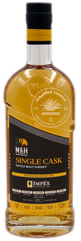 M&H Single Cask Single Malt Israeli Whiskey 750ml