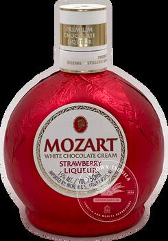 Mozart White Chocolate Cream Strawberry Liqueur 750ml