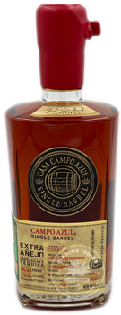 Campo Azul 2013 Single Cask Extra Anejo Joel Richard Collection Tequila