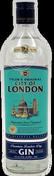 Tyler's Original City of London Dry Gin 750ml