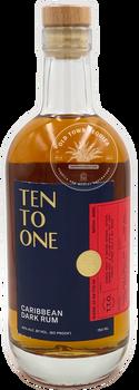 Ten To One Caribbean Dark Rum 750ml