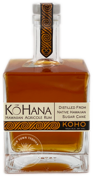 KoHana Koho Barrel Aged Hawaiian Agricole Rum 750ml