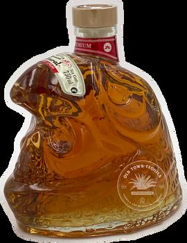 Riqueza Cultural Glass Craneo Anejo Tequila