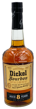 George Dickel Bourbon Whisky Aged 8 Years 750ml