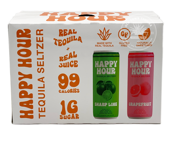 Happy Hour Tequila Seltzer Variety Pack