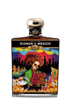 Iconos de Mexico Day of the Dead Tequila Añejo 750ml