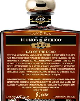 Iconos de Mexico Day of the Dead Tequila Añejo