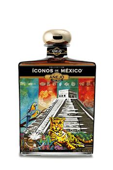 Iconos de Mexico Mayan Mysticism Tequila Añejo 750ml