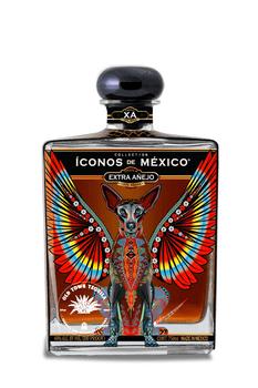 Iconos de Mexico Alebrijes Tequila Extra Añejo 750ml