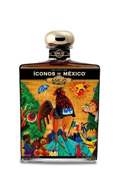 Iconos de Mexico Mexican Lottery Tequila Añejo 750ml