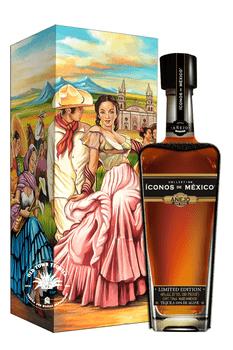 Iconos de Mexico Guadalajara Of My Loves Tequila Wooden Box Añejo 750ml